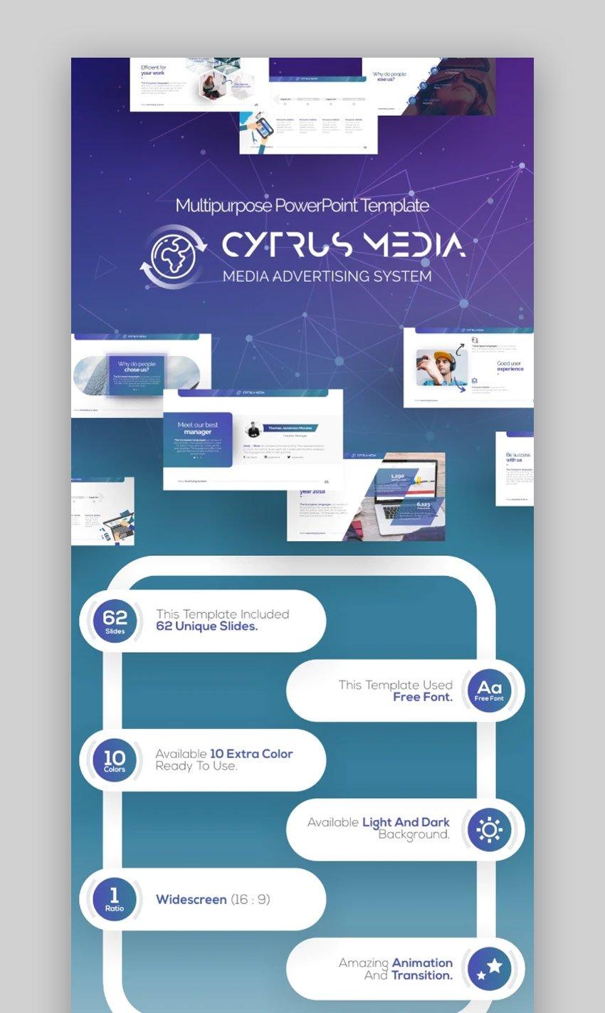 Cytrus Business PowerPoint-Vorlagen