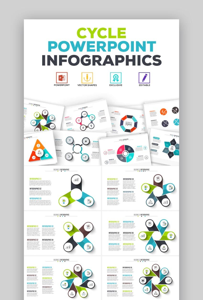 Cycle Infographic PowerPoint Template