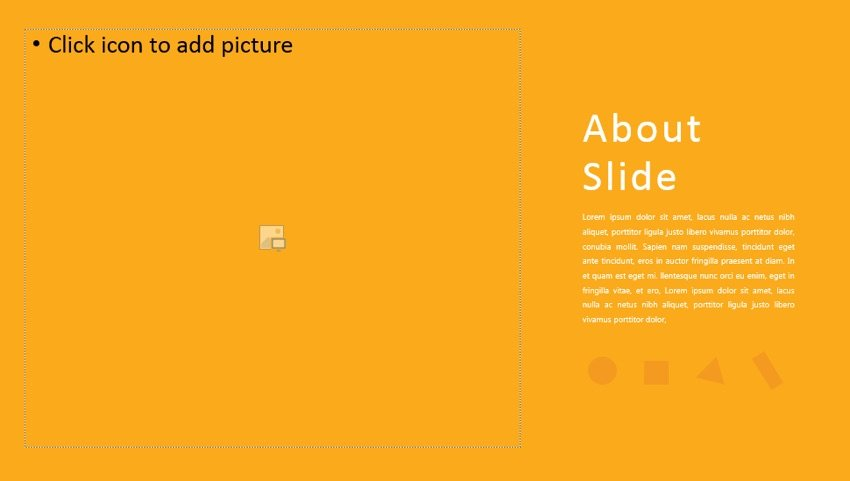 About Slide Colorful PowerPoint Template