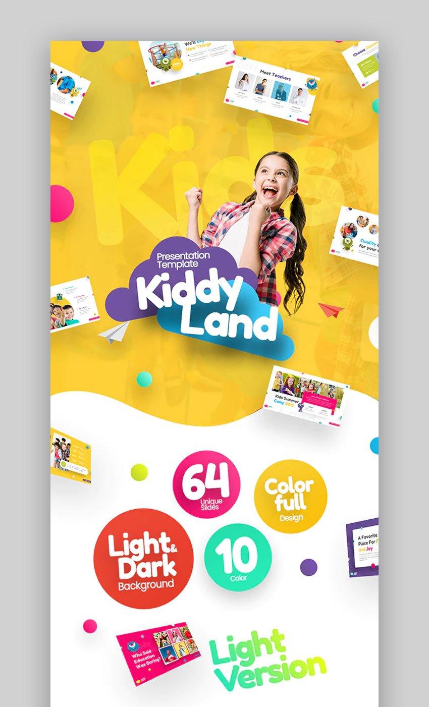 Kiddyland fun PowerPoint theme