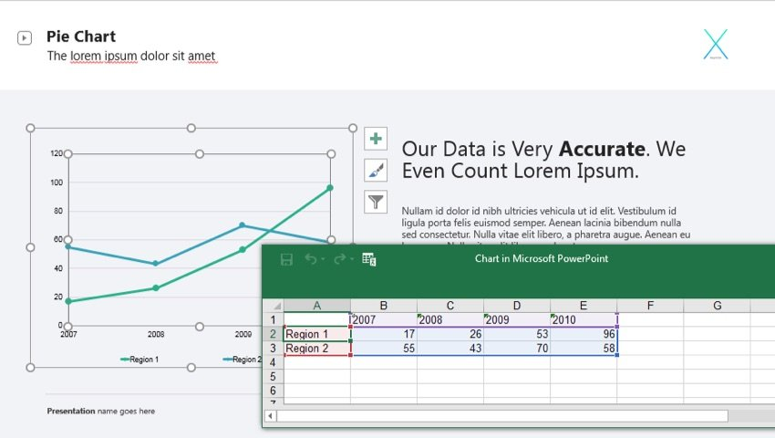 Update Data in PowerPoint Presentations