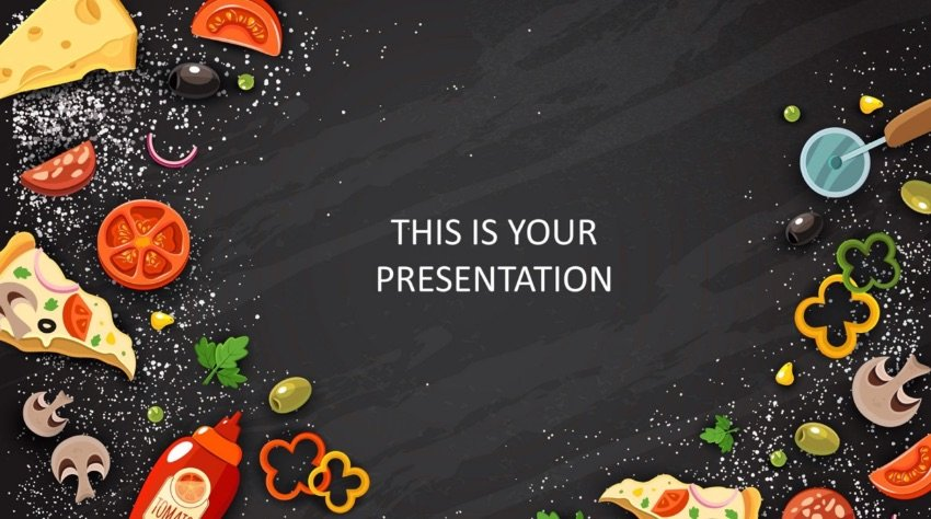 Powerpoint Templates Free Download Food