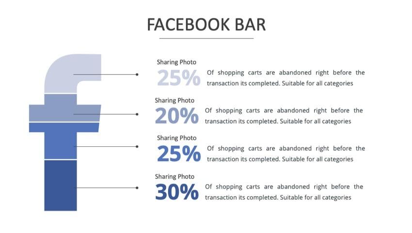 Facebook slide before
