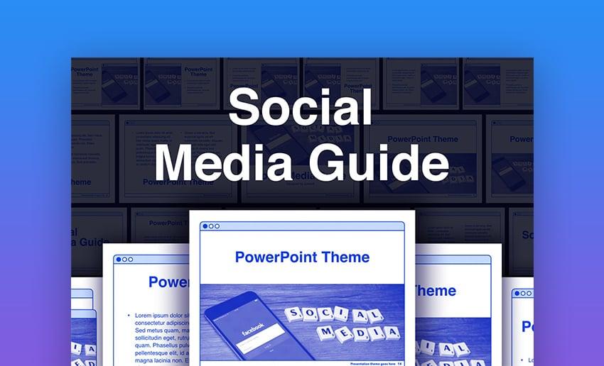 Social media PowerPoint presentation download