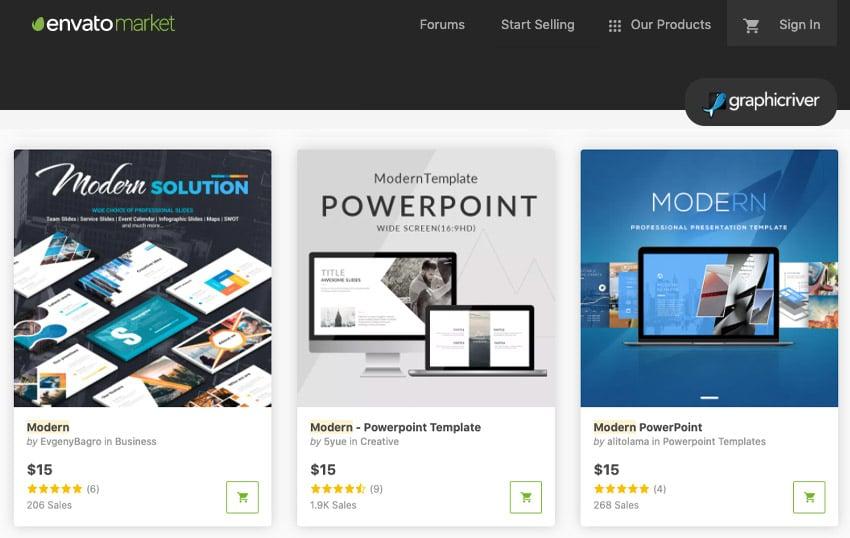 GraphicRiver minimal PowerPoint