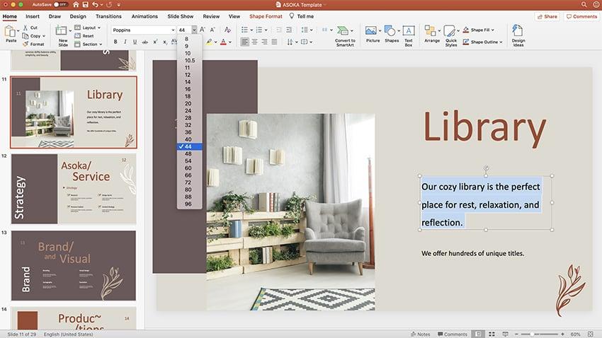 PPT photo album template step 5