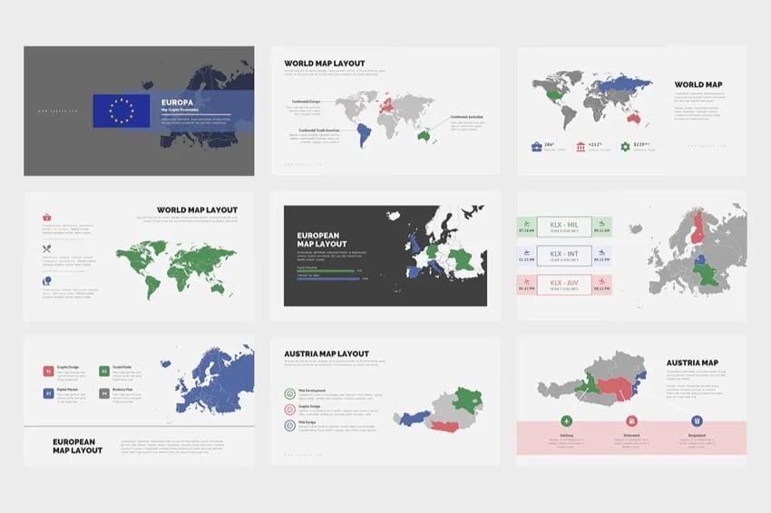 Google Maps Slides Europa