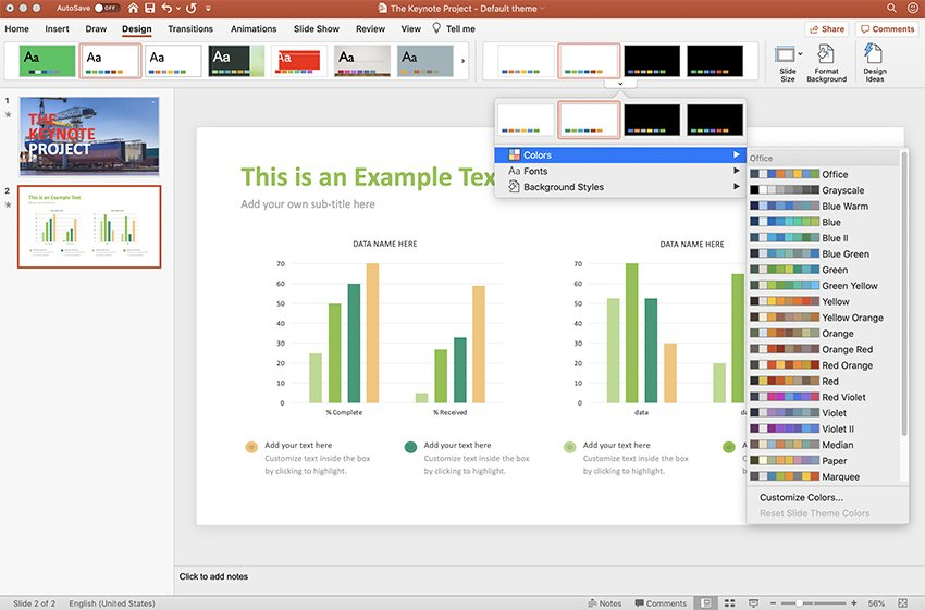 Change Management PowerPoint Presentation Template Tutorial Change step 5