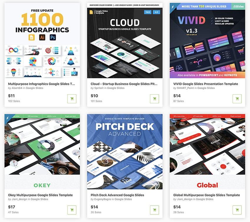 GraphicRiver creative Google Slides