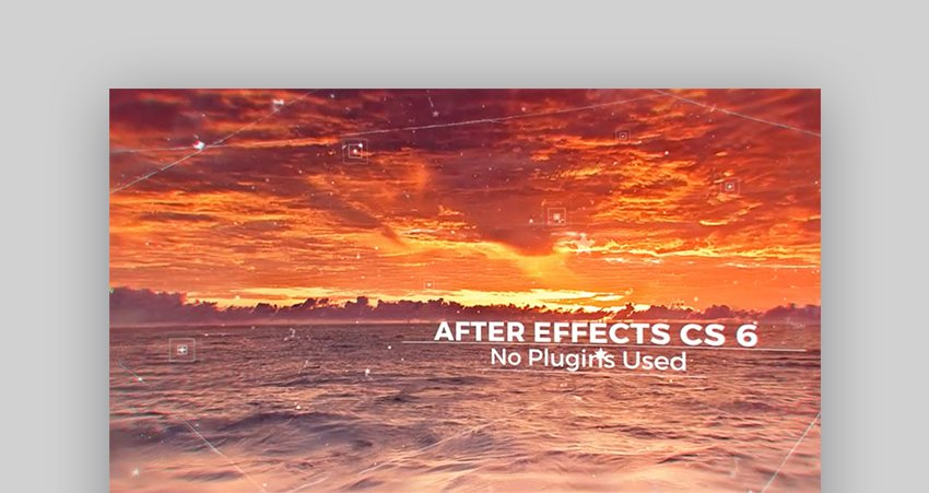 Parallax amazing After Effects templates
