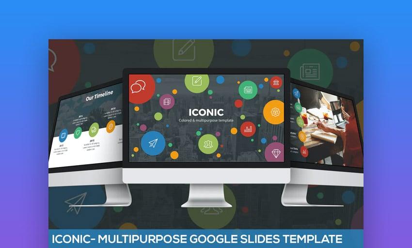 Iconic Google Slides business themes