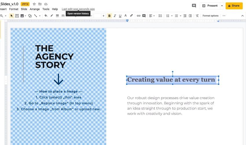 Step 2 Google Slide templates for business