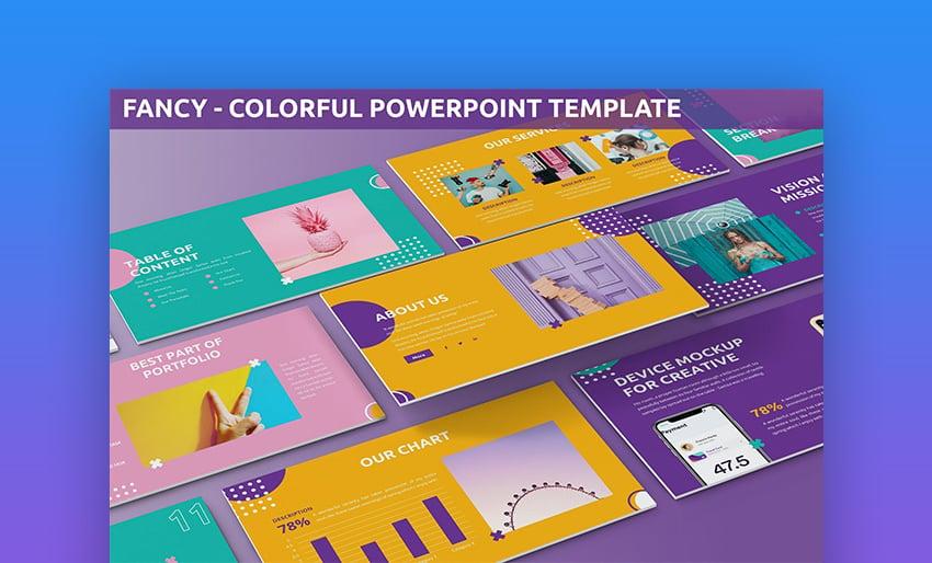 Best presentation colors