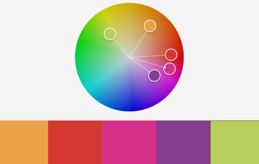 Colors vertical free colorful PowerPoint templates