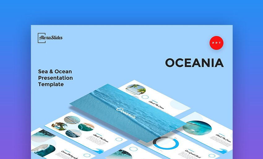 Water PowerPoint template