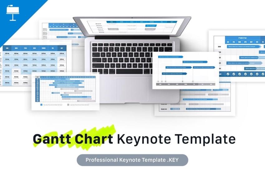 Keynote Gantt chart