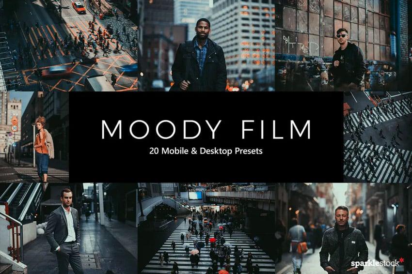 Moody film presets