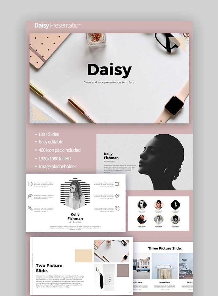Daisy cool PowerPoint ideas