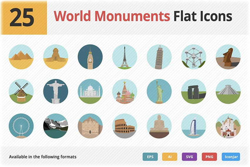 Map PowerPoint icons