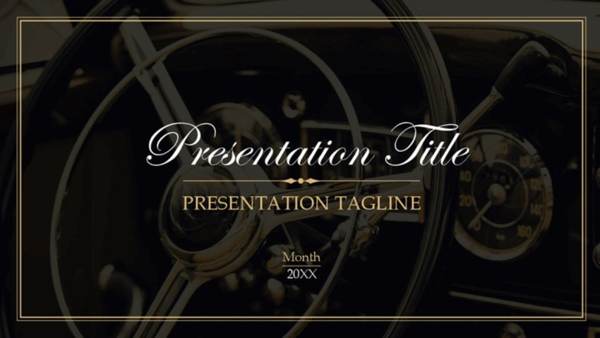 Funeral template PowerPoint
