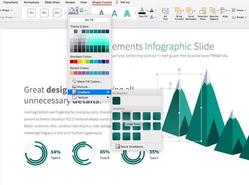 Color 3D PowerPoint