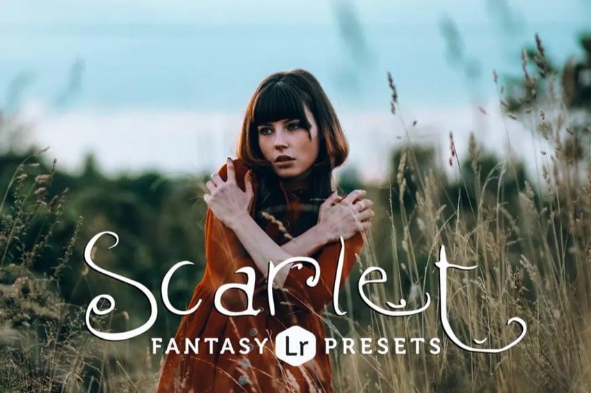 Scarlet fantasy Lightroom presets