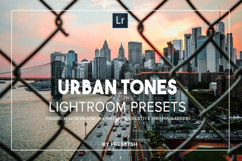 Urban tones Lightroom presets