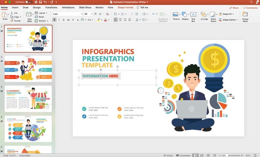 Animierte PowerPoint-Vorlagen