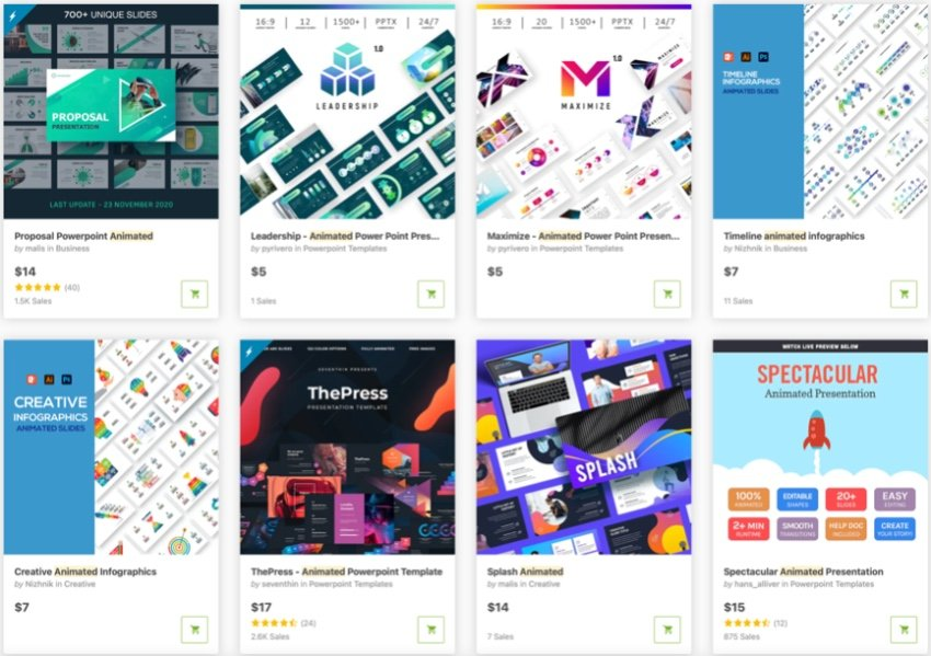 GraphicRiver PPT-Animation