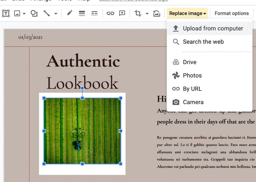 Images in cute Google Slides templates