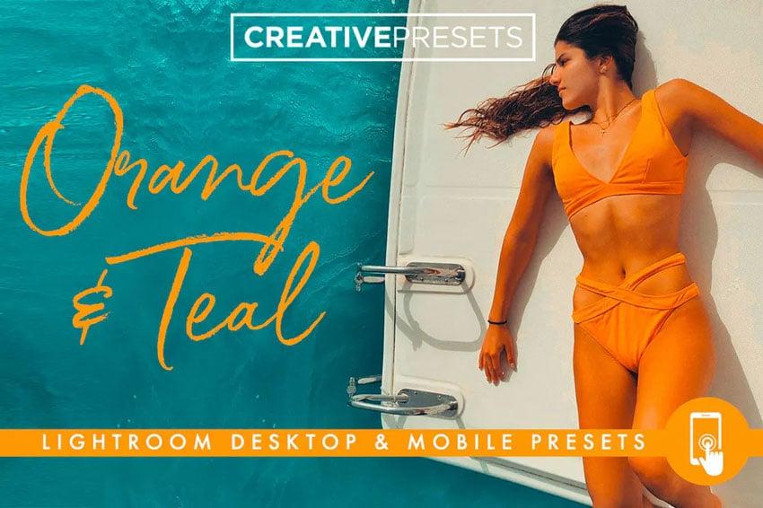 Orange and teal presets