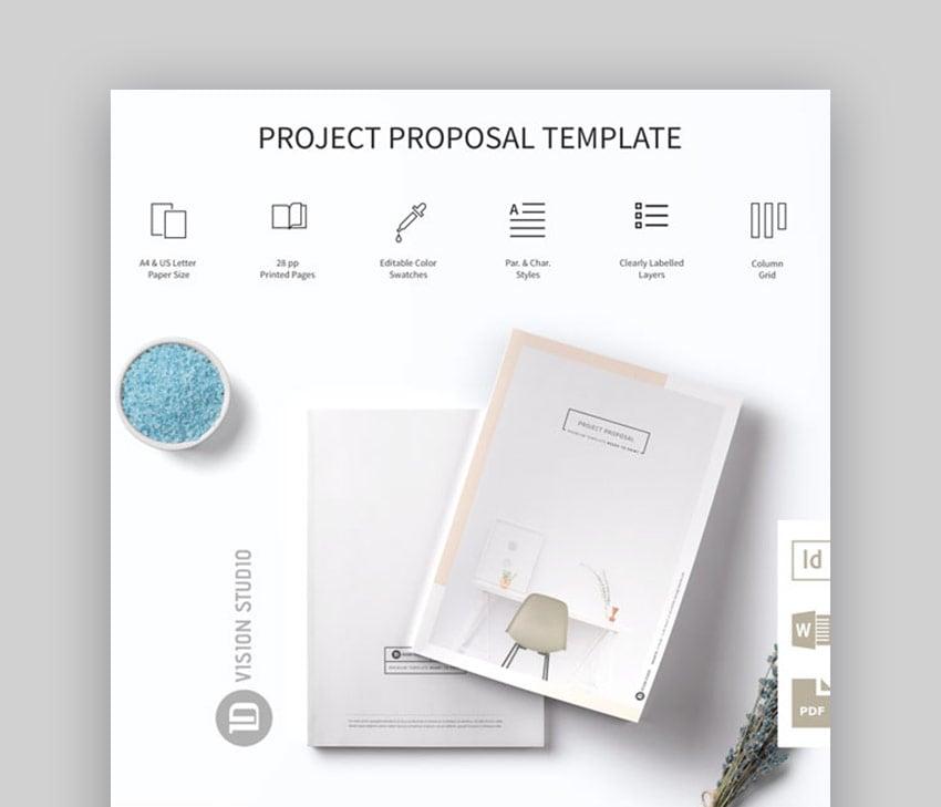 Proposal flowchart in Word