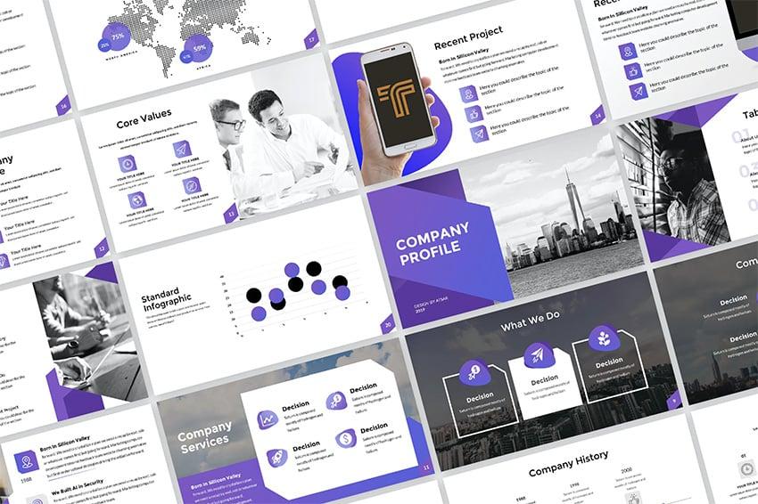 Company profile PPT