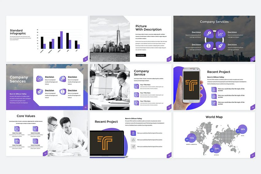 Intro company profile format PPT