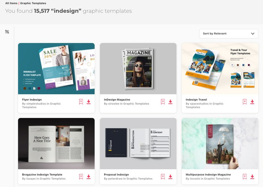 Envato Elements inDesign to Word
