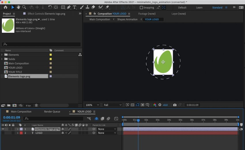 How to animate a logo in After Effects