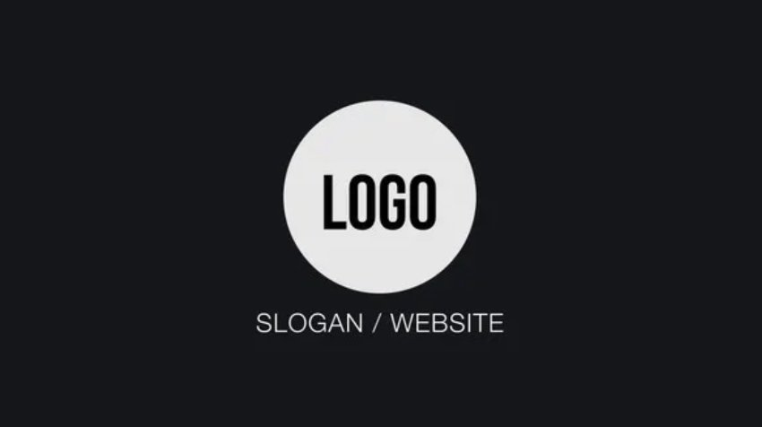 Logo reveal After Effects