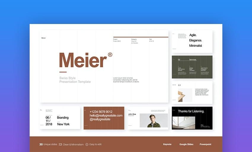 Meier how to make interactive Google Slides