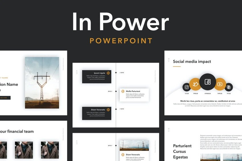 In Power Motivational slide