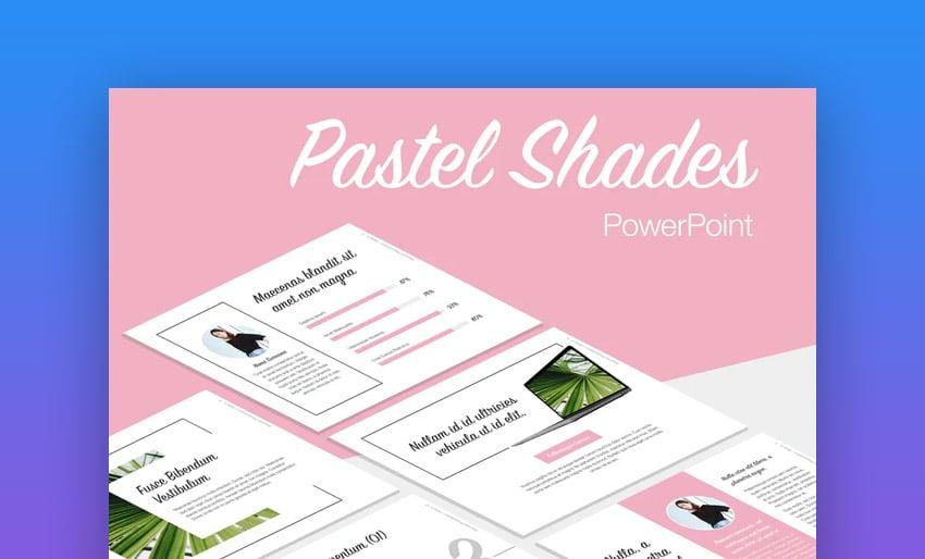 Pastel motivational presentation PPT