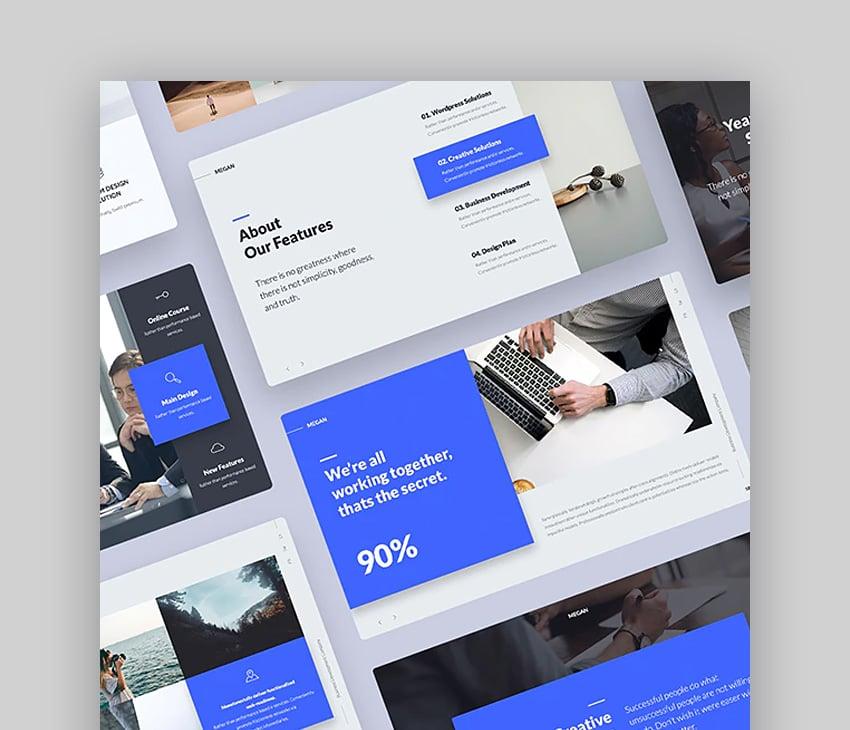 Megan Google Slides theme templates
