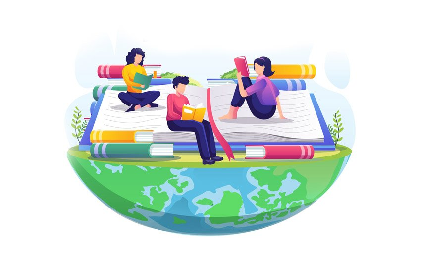 Envato literacy day post