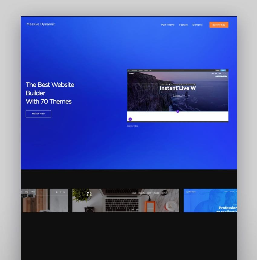 Massive Dynamic Best Theme With Visual Composer