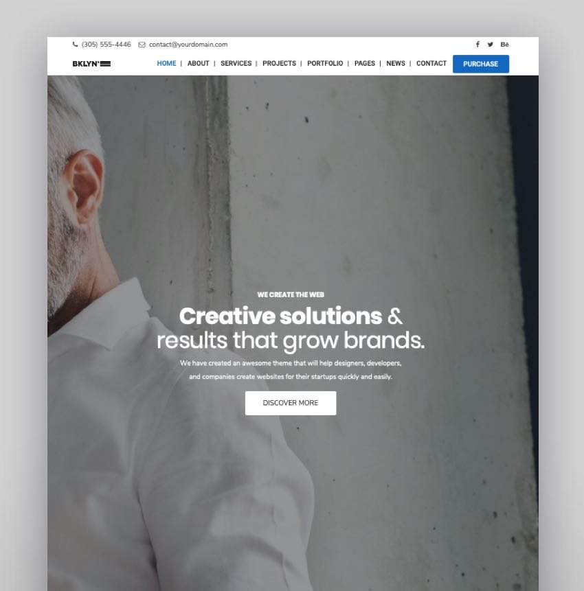 Brooklyn - Visual Composer WPBakery Templates