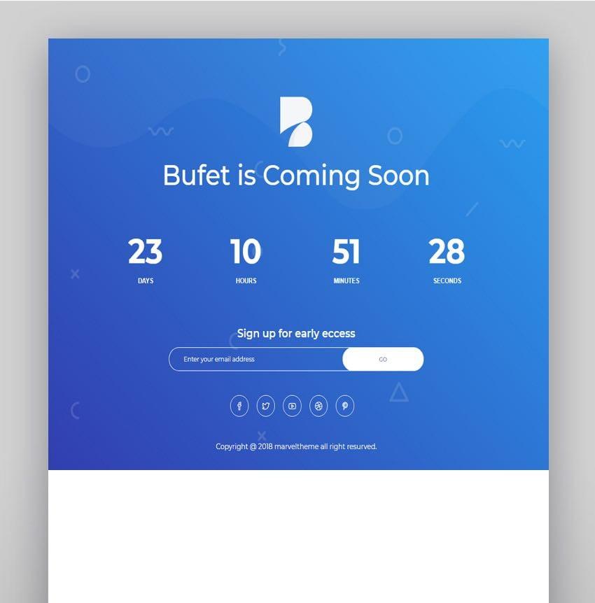Bufet - Multi Concept Software  App Landing WordPress Theme  RTL