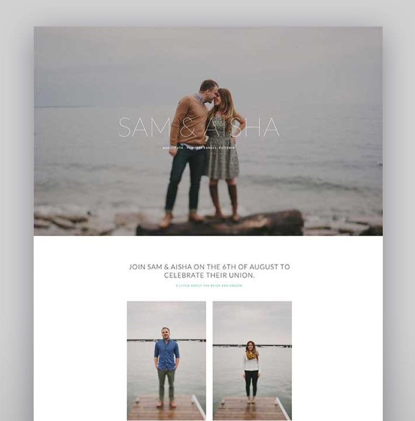Union - Wedding and Event WordPress Theme for Variant Visual Composer