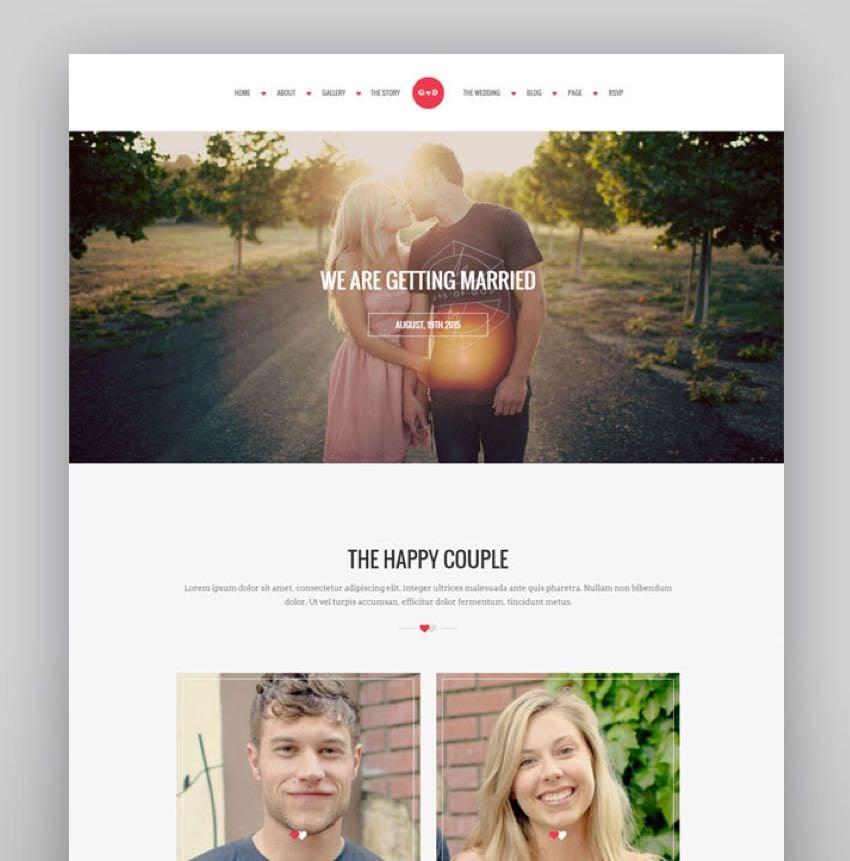 WP Forever - Responsive WordPress Wedding Theme