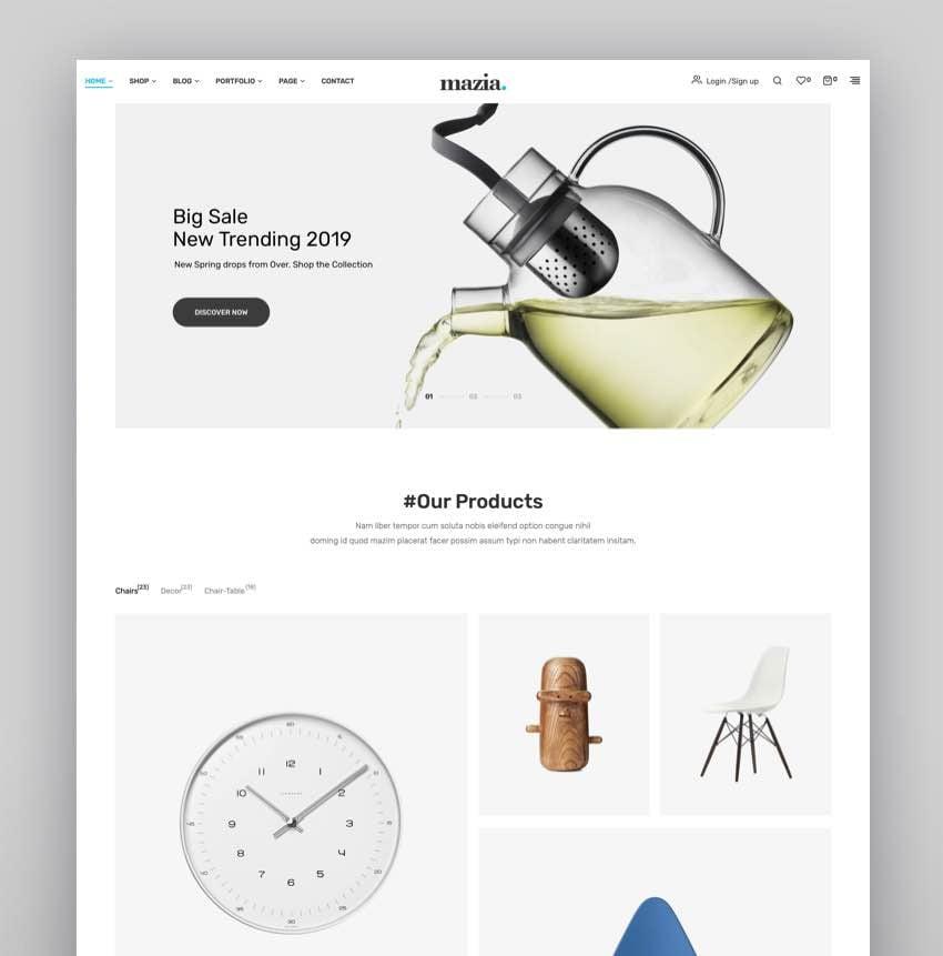 Mazia - Multipurpose WooCommerce Theme