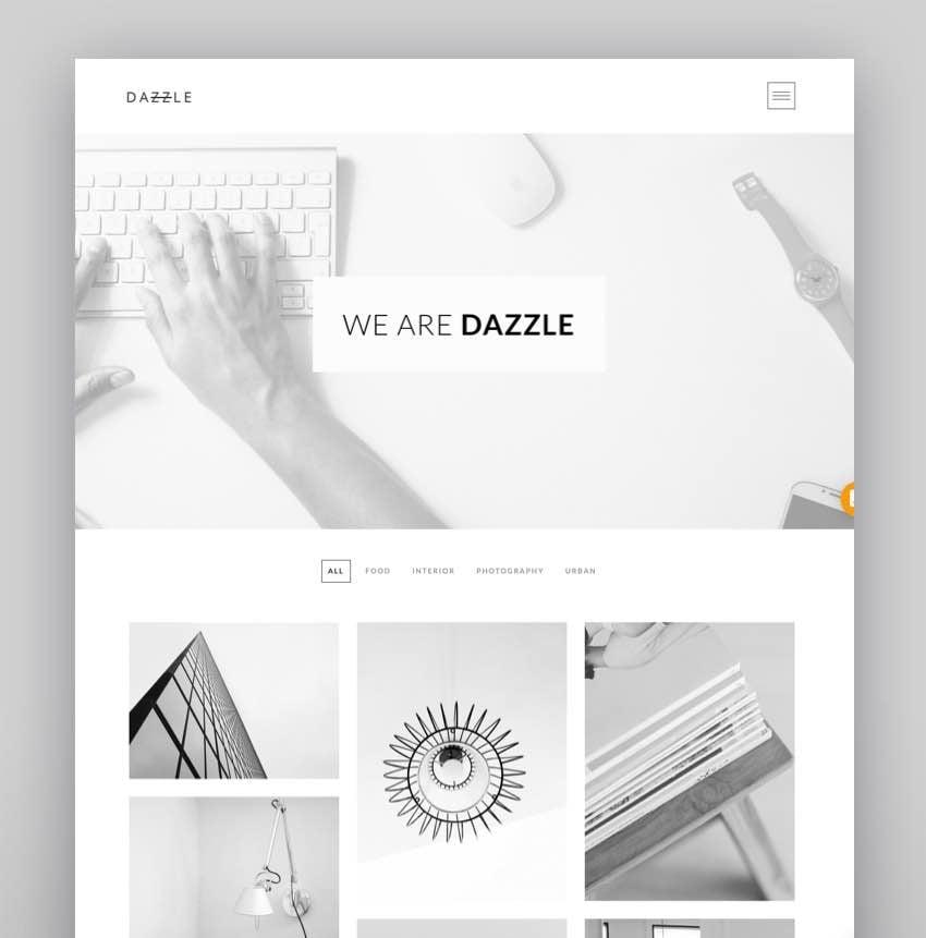 Dazzle - Portfolio Theme for Creative Professionals