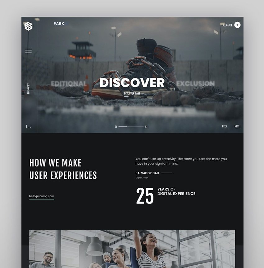 Tourog  Creative Agency WordPress Theme